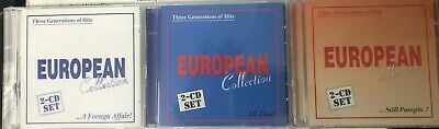 8CD - EUROPEAN COLLECTION - THE BEST EUROPEAN HITS - 70s and 80s DISCO MUSIC