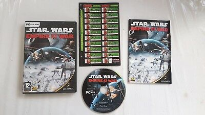 Star Wars Empire At War Pc Cd Dvd Game Good Condition