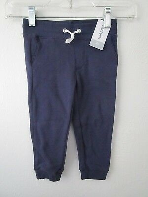 Carter's Toddler Girl Navy Sweatpants w/Lace Detail on Pockets Size 2T NWT