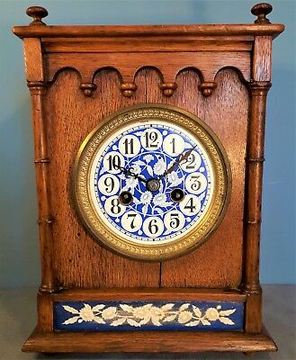 Antique French Aesthetic Movement Mantel Clock