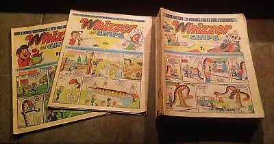 27 Copies Of Vintage Whizzer & Chips In Period August 1976 - May 1977