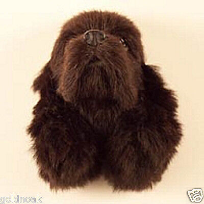 (1) Brown Cocker Spaniel Furlike Dog Magnet! Gift Box Included! Holiday Gifts?