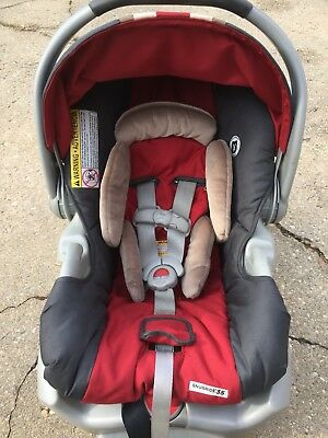 Graco Infant Car Seat And Base Red Gray Girl Or Boy Pick Up Only