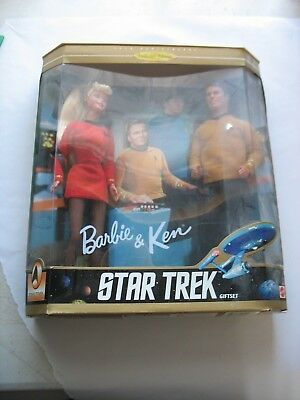 NIB Barbie and Ken Doll Star Trek 30th Anniversary Collector Edition