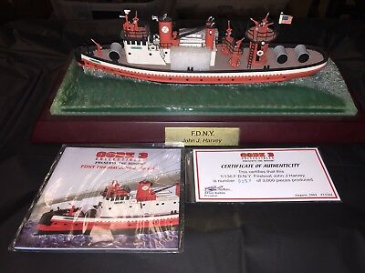 Code 3 Collectables FDNY John T. Harvey fire boat,  1/136th scale