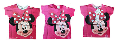 Girls Minnie Mouse Shorty Pyjamas Top /& Short Set Age 3 to 8 Years 831095