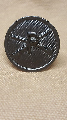WWI US Army Pioneer Infantry Collar Disk