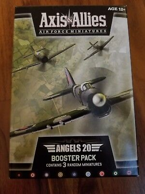 Axis & Allies Air Force Miniatures Angels 20 Booster Pack (3 Miniatures) New