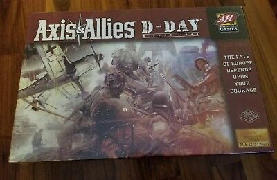Axis & Allies D-Day Board Game New Sealed Avalon Hill Games