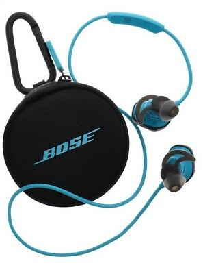 Bose SoundSport Wireless Neckband Wireless Headphones Blue Aqua Used Good!