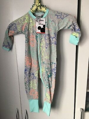 Thumper  Bambi Bonds Zippy Wondersuit BNWT Size 0