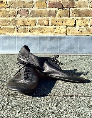 FREED Black Jazz Dance Shoes Mens Size 10 Nearly New Condition