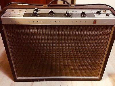 Gibson Les Paul Crestline Guitar Amplifier GA 40T 25W made in USA 1962