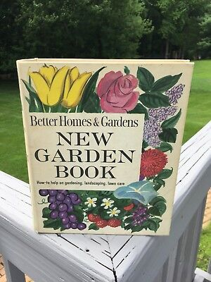 Vintage Gardening Book Better Homes & Gardens Mid Century Photographs Great Gift