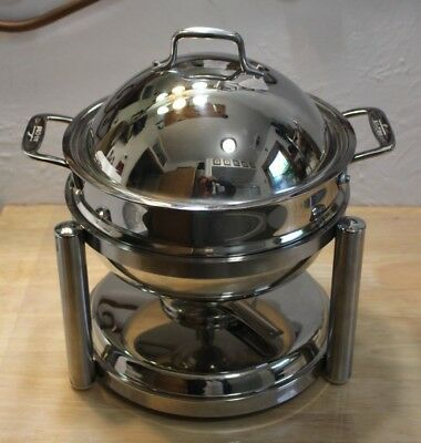 All-Clad Home Catering Collection Round Chafing Dish Stainless steel 3.5 Qt. NIB