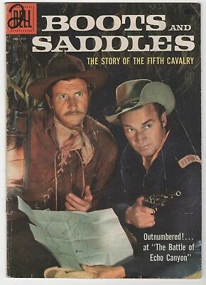 Four Color #919 Boots and Saddles In Good/Very Good 3.0 (July, 1958, Dell)