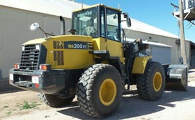 Wheel Loader Komatsu 126Hp Enclosed Cab Ac And Heat Auxiliary Hydraulics