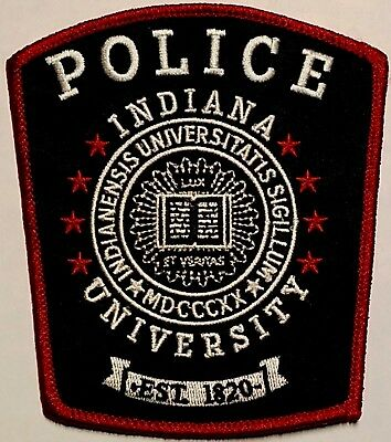 Indiana University Police Patch Big 10 Conference College