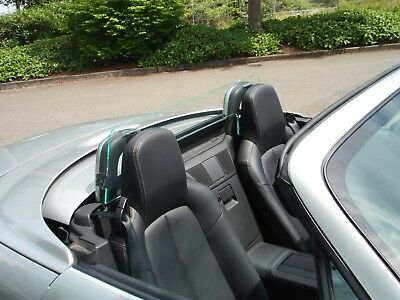 Windblox 2005-Now Mazda Miata Wiindscreen Wind Deflector Windblocker Windstop
