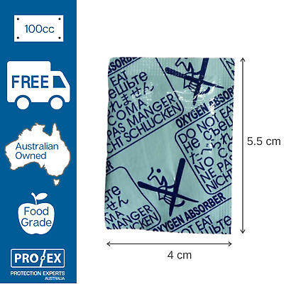 Oxygen Absorber 100cc - 100 units (1 x pkt)