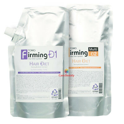 [Rebonding] TOMO Firming Hair Diet System[SUPER HARD] 500ml+500ml for Thick hair