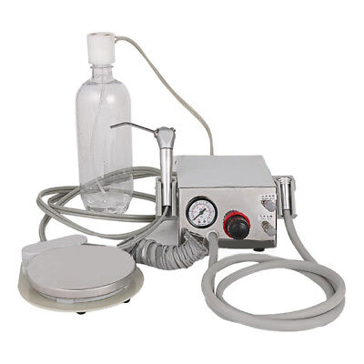 Dental Portable Turbine Unit Metal Shell + Water Bottle Work With Compressor 2H