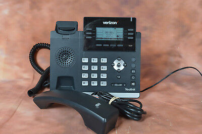 Verizon Yealink SIP-T41P Gigabit IP Phone - RESET AND TESTED - GOOD CONDITION