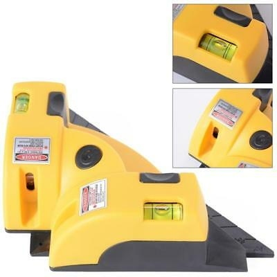 Vertical Horizontal Laser Line Projection Square Level Right Angle 90 Degree