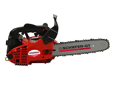 New Petrol Chainsaw Bar E-Start Tree Pruning Chain Saw Arborist Garden 25cc 12""