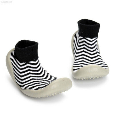 EED4 Elastic Band Baby Socks Shoes First Walkers Shoe S/M/L/XL Anti Slip