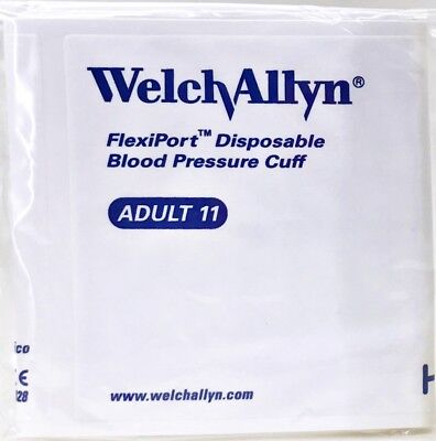 Welch Allyn FlexiPort Blood Pressure BP Cuff Adult Size VINYL-11