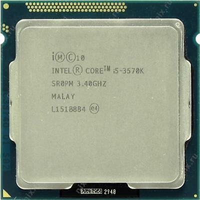 Intel i5 3570k removed from working PC, never overclocked.