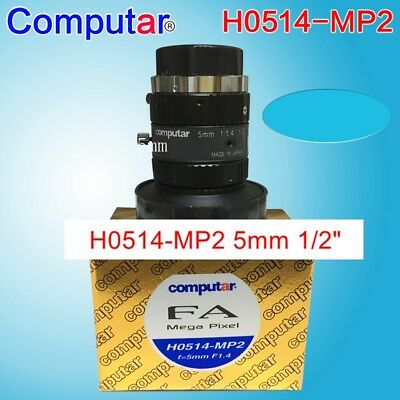 1PC Computar H0514-MP2 5mm 1:1.4 HD Industrial Camera Lens#SS