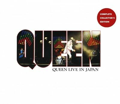 New QUEEN / LIVE IN JAPAN -COMPLETE COLLECTOR'S EDITION-(4CDR)##na