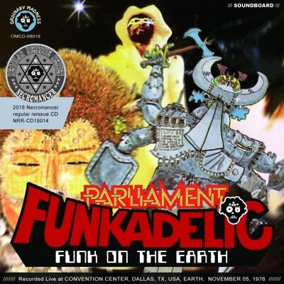 New PARLIAMENT FUNKADELIC / FUNK ON THE EARTH (1CDR)##na