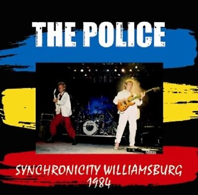 1984 The Police Synchronicity Showtime Concert Sting