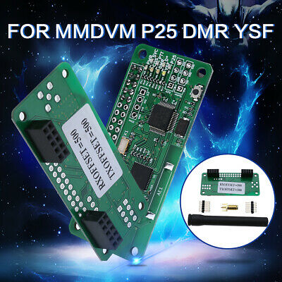 2018 MMDVM Hotspot Pi-star Support P25 DMR YSF & Antenna For Raspberry pi
