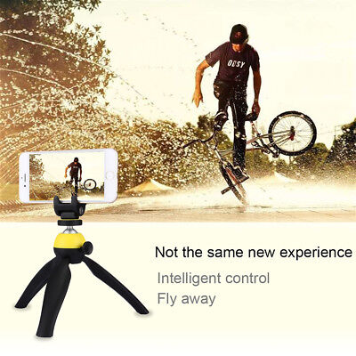 PULUZ Mini Tripod Mount Phone Holder Ball Head With Clamp For Gopro/Camera/Phone