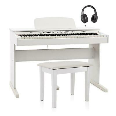 DP-6 Digital Piano Bench Pack by Gear4music White