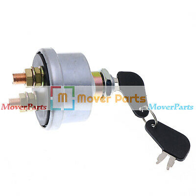 Mover Parts Master Disconnect 7N0719 7N-0719 Ignition Switch W/ 2 keys For Caterpillar Cat Battery Accessories