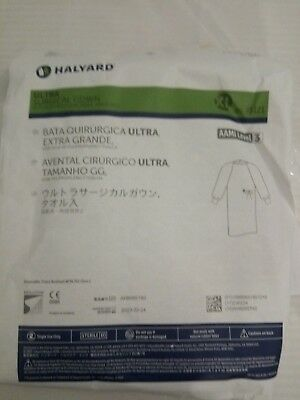 HALYARD XL ULTRA SURGICAL GOWN W/FABRIC&TOWEL AAMI LEVEL 3  95121 CASE/30 no-tax