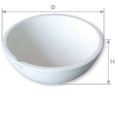 Ceramic Crucible Bowl Dish Cup Furnace Melting Casting Refining Gold Silver 250g