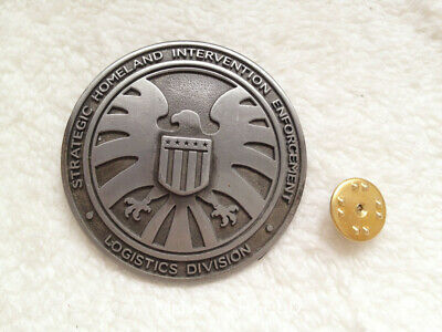 Avengers Agents of S.H.I.E.L.D SHIELD Eagle Funny Badge Pin COSplay Gift