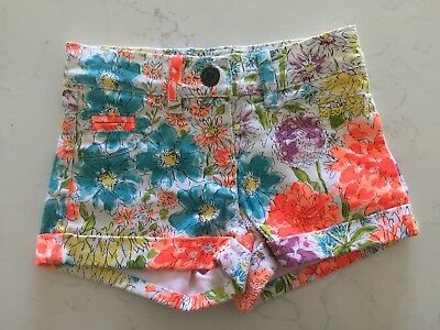 Girls Fox And Finch Shorts Size 2-3