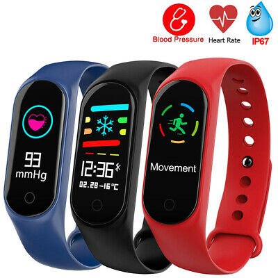 Smart Watch Sports Fitness Activity Heart Rate Tracker Blood Pressure QW18-DropS