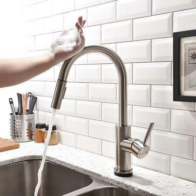 Touch Kitchen Faucets with Pull Down Sprayer, Kitchen Sink Faucet with Pull Out