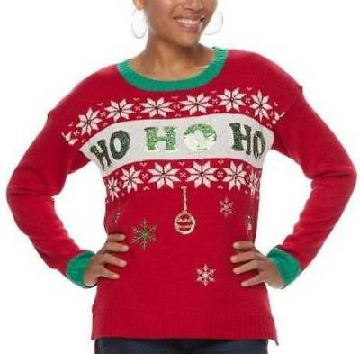 New Kohls Ugly Christmas Sweater Red Sz Xxl Womens 3499 Picclick