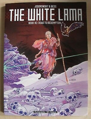 The White Lama Book 2 GRAPHIC NOVEL Road to Redemption Jodorowsky Paperback NEW
