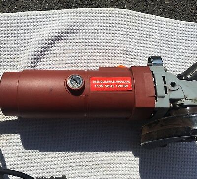 Hilti angle grinder corded used 2 twice in great condition Wow Great Price