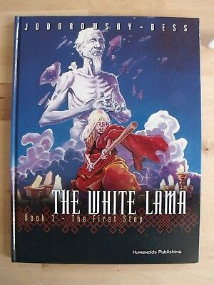 The White Lama Book 1 GRAPHIC NOVEL The First Step Jodorowsky Hardback Bess VG